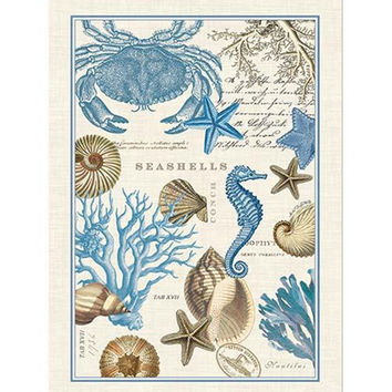 Seashore Kitchen Towel