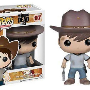 Funko Pop TV: The Walking Dead - Carl Vinyl Figure