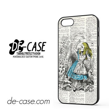 Vintage Book Alice For Iphone 5 Iphone 5S Case Phone Case Gift Present YO