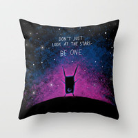 Be One Throw Pillow by Dale Keys | Society6