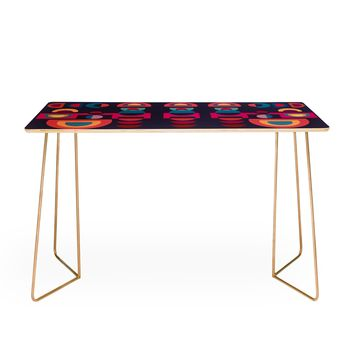 Viviana Gonzalez Geometric Colorplay 1 Desk