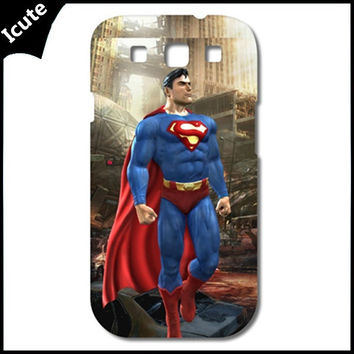 Superman Hard Case Cover for Samsung Galaxy S3/S4/S5,iphone 4/4s,iphone 5/5s/5c,iphone 6  plastic phone cases = 1945900740