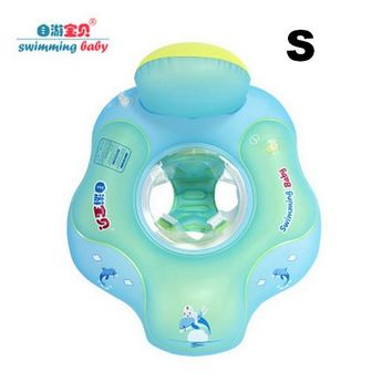 Swimming Pool beach Inflatable Baby Swim Seat Float Water Fun Toys Pool Floats More safety baby swimming flotat Double chair Raft waist stool floatSwimming Pool beach KO_14_1