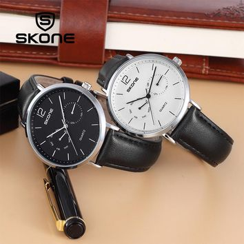 Men Watch Simple Classic Luxury Brand Calendar Week Display Quartz Wristwatch Saat Waterproof Clock Wristwatch Reloj Hombre