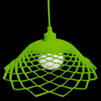 Modern Silica Gel Net Model Lamp Green - Wonderful Lights