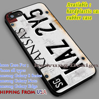 Supernatural | License Plate | Kansas iPhone 6s 6 6s+ 6plus Cases Samsung Galaxy s5 s6 Edge+ NOTE 5 4 3 #movie #supernatural dl2