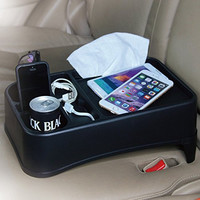 TIROL® Travel Food Holder and Tray Car Seat Tray Stand Organizer