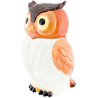 Owl Body Ceramic Cookie Jar