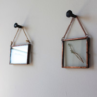 Copper Hanging Mini Photo & Print Frame