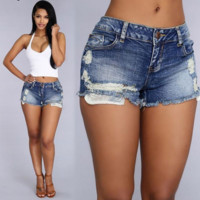 women Amazon fashion shorts jeans [9918936524]