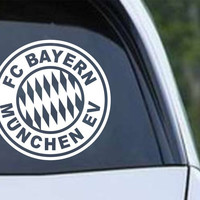 FC Bayern Munich Inspired Die Cut Vinyl Decal Sticker