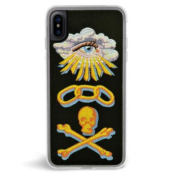 Life Embroidered iPhone X Case