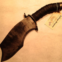 Black handled high carbon fantasy knife
