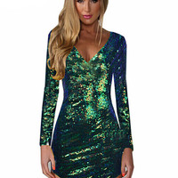 Esmeralda Sequin Dress