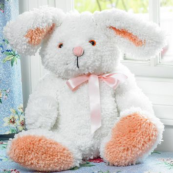 Bunny Huggables Stuffed Toy Latch Hook Kit 19""