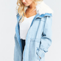 Montana Denim Jacket ~ Overcast