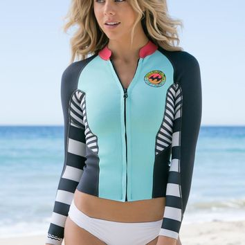 Billabong - Peeky Surf Jacket | Surf Blue