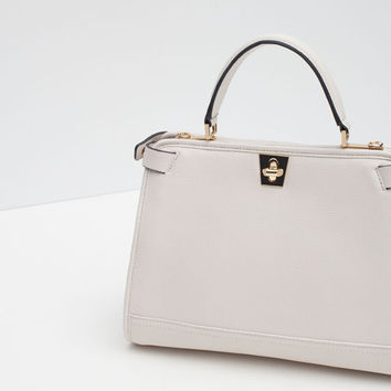 CITY BAG WITH FASTENER