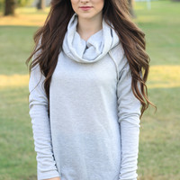 The Cozy Chic Cowl Neck Sweater