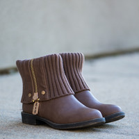 The Cici Boot, Light Brown