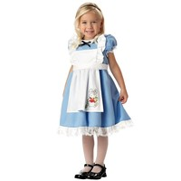 Li'l Alice in Wonderland Costume - Toddler (Blue/White)