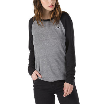 Skate Patch Long Sleeve Raglan | Shop Womens Tees At Vans
