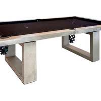 Pool Table, Black, Game Tables