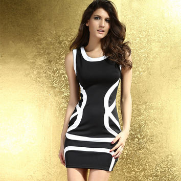 Body Sexy Korean Dress One Piece Dress = 4804320388