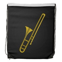 Trombone cartoon Backpack