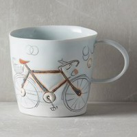 Pedal-Push Mug by Anthropologie Assorted Mug Mugs