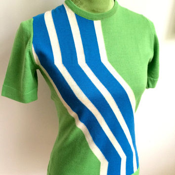1960s PIERRE CARDIN, Paris - Women's Mod Pullover (SALE)