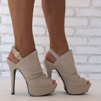 Made For Walking Heels in Ivory