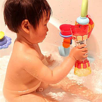 Baby Bath Toys Toddler Boy Funny Toy Plastic Bath Swim Water Whirly Wand Cup Beach Kids Toys for Children Kids