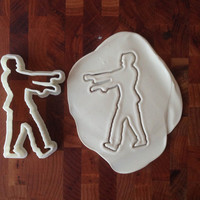3D Printed Zombie Cookie Cutter - Dishwasher Safe