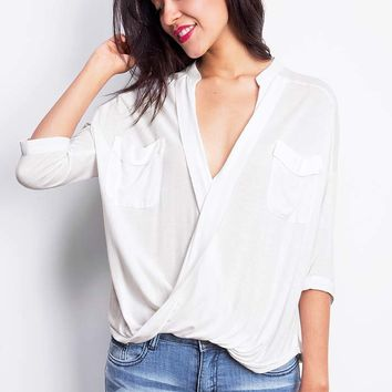 Surplice+Wrap+Blouse