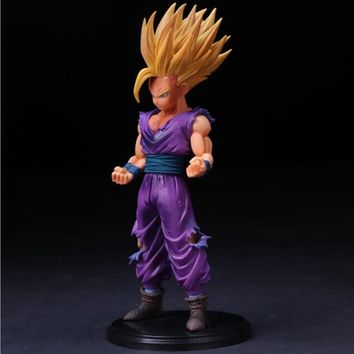 Anime Dragon Ball Z Super Saiyan Son Gohan Action Figures/ Master Stars Piece Dragonball Figurine Collectible Model Toy