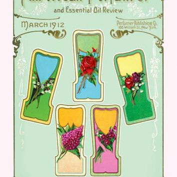 American Perfumer and Essential Oil Review, March 1912 20x30 poster