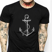 Anchor T Shirt for Men