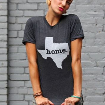 TEXAS is HOME Women's Print T-Shirts