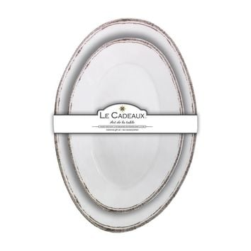 Rustica Antique White - Nesting Platters