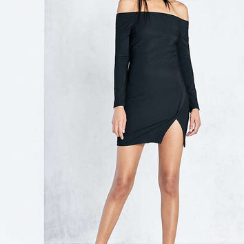 ASTR Margaux Choker Bodycon Mini Dress - Urban Outfitters
