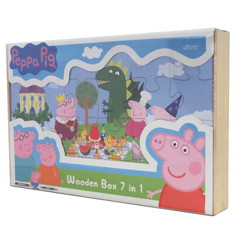 Peppa 7 in 1 Puzzle