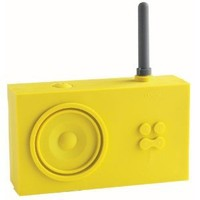 Lexon Tykho Rubber Radio Yellow: Electronics