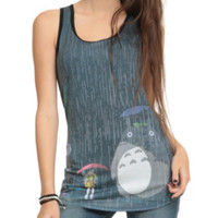 Studio Ghibli Her Universe My Neighbor Totoro At The Bus Stop Girls Tank Top