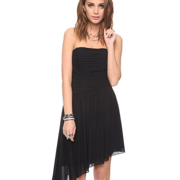 Asymmetrical Strapless Dress | FOREVER21 - 2000041490