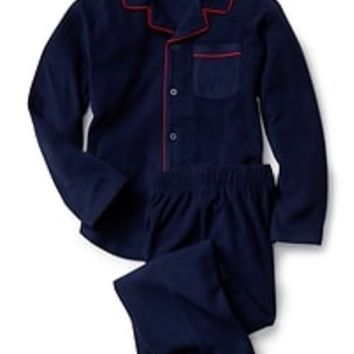Fleece classic PJ set|gap