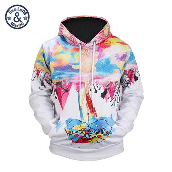 Mr.BaoLong Men/Women Harajuku Tie Dye Colorfull Graphic Pullovers Sweatshirt Hooded Casual Couples 3D Hoodies Sudaderas Hombre