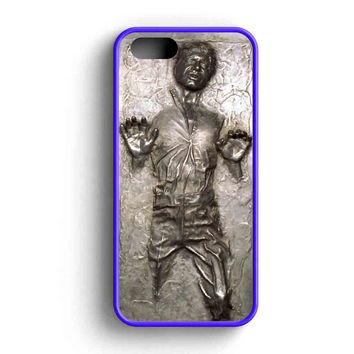 Star Wars Han Solo Frozen In Carbonite  iPhone 5 Case iPhone 5s Case iPhone 5c Case