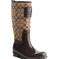 COACH PEARL RAIN BOOT | Dillards.com