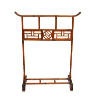 Pre-owned Chinese Bamboo Garment Rack